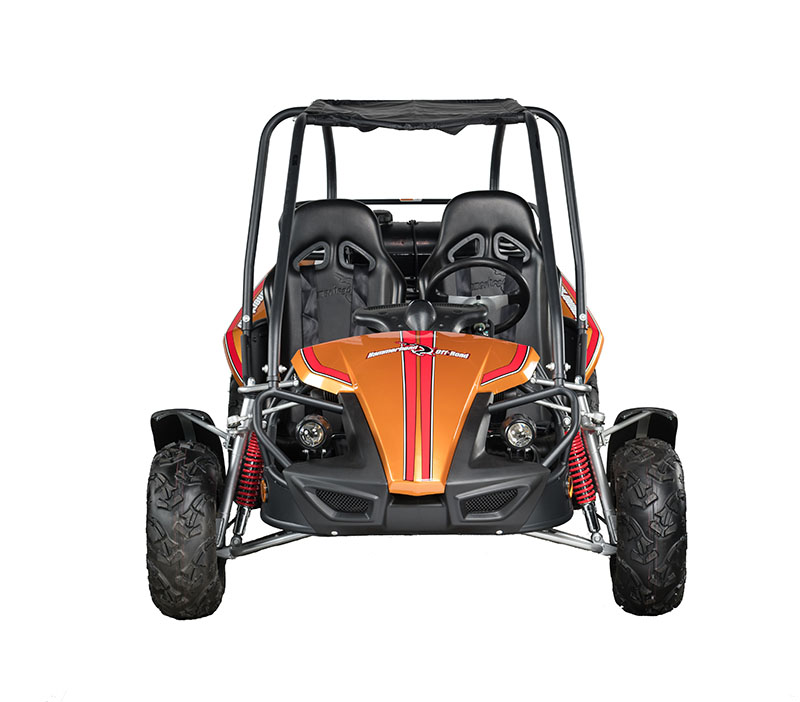 Gts Orange Front on Hammerhead 150cc Go Kart Engine