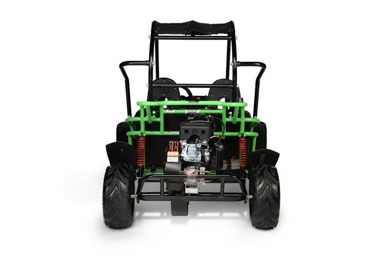 Mudhead R Green Rear on Hammerhead Gts 150