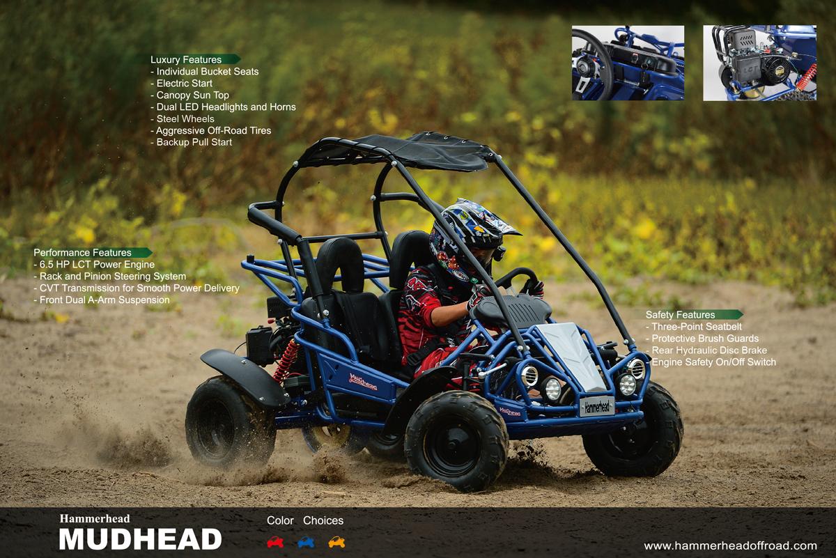 Hammerhead Go Kart 250