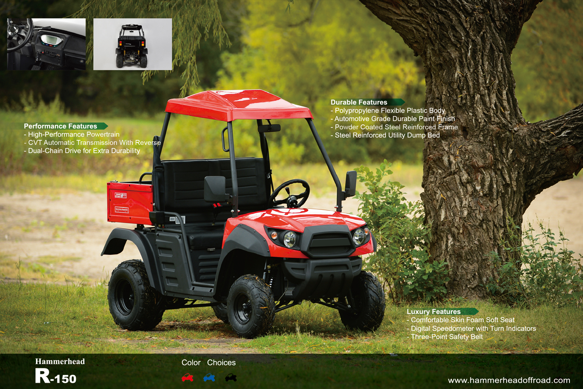 Why You Need the Hammerhead R150 Utility Vehicle