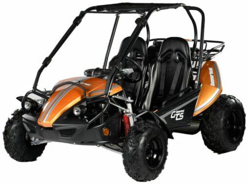 GTS Orange with Windshield