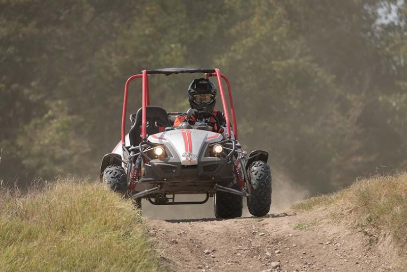 GTS Platinum™: The Off-road Go-kart with Style and Performance